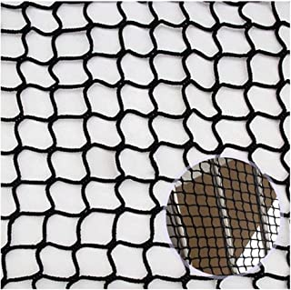 Ball Stopping Net,Kids Railing Balcony Baby Stair Ball Stopping Netting Safety Nylon Backstop Goal Net Nets Golf Course Barrier Replacement Protection Rope Children Rail Stairs Indoor Outdoor Black