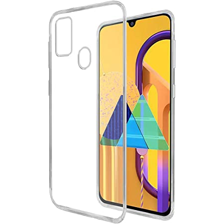 Amazon Brand - Solimo Back Case for Samsung Galaxy M21 / M30s (Flexible|Transparent)