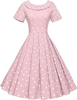 50s Dress   Vintage 50/'s Pink Floral Silk Dress Size M L 30 waist full skirt sleeveless light summer dress A Juniorscope Fashion