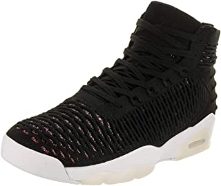 Nike Men's Flyknit Elevation 23 Black/Black/University Red Basketball Shoe 11 Men US