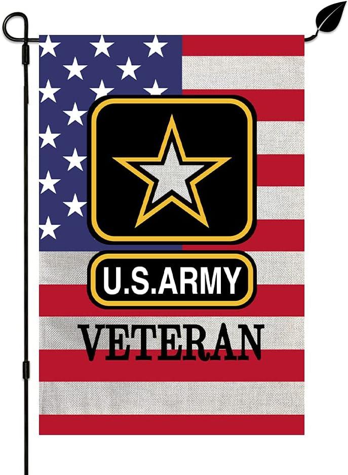 KINNYOBI-US supreme Army US Garden Flag - Vivid D Proof and Popular overseas Fade Color