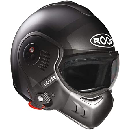 Roof Herren Boxv8 Dach Helm Boxer V8 Bond Matt Titan Black 54 Xs Schwarz Auto