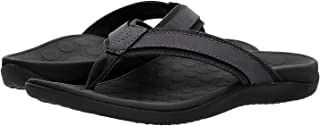 Vionic Men's Tide Toe-Post Sandal - Flip Flop with Concealed Orthotic Arch Support
