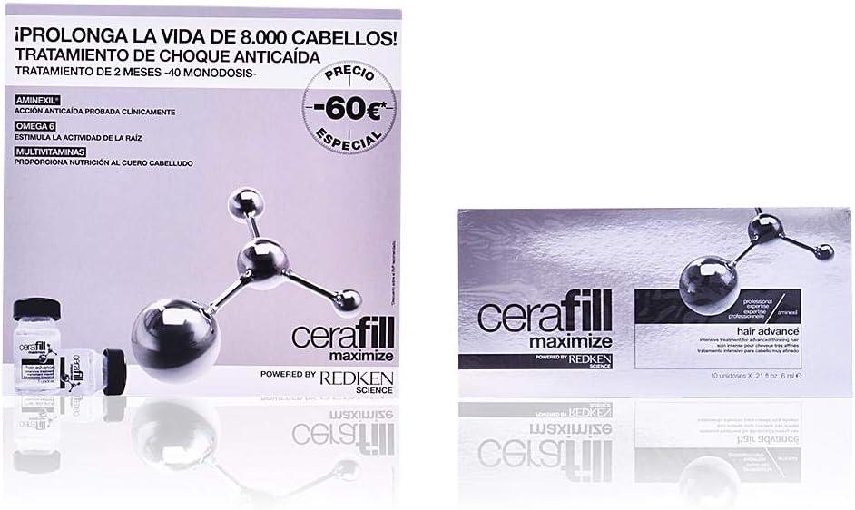 Redken Cerafill Defy Tratamiento de Choque Anticaida - 10 Unidades