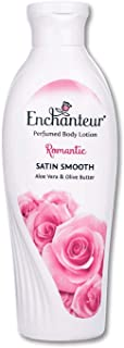 Enchanteur perfumed Body Lotion Romantic Satin smooth Aloe vera & Olive butter - Romantic, 250ml Bottle
