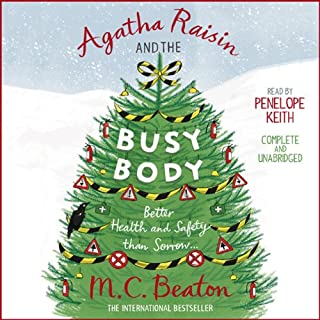 Agatha Raisin and the Busy Body cover art