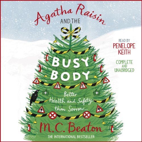 Agatha Raisin and the Busy Body audiobook cover art