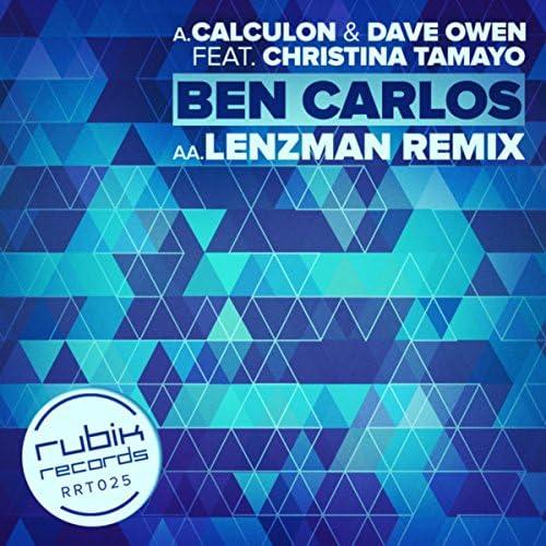 Calculon, Lenzman & Dave Owen feat. Christina Tamayo
