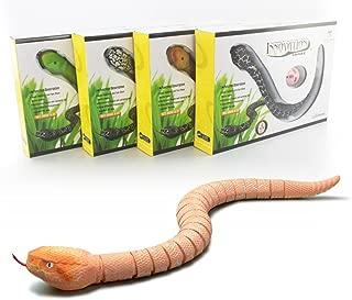 Gotian Remote Control Snake Toys 3.7V RC Rattlesnake Toy Animal Trick Terrifying Mischief Toy Birthday Presents for Children Gift