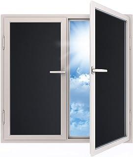 Havalime Fensterfolie Blickdicht Sichtschutzfolie Selbstklebend Verdunkelungsfolie Fenster Klebefolie Statische Folie Dunkel Fur Schlafzimmer Badezimmer