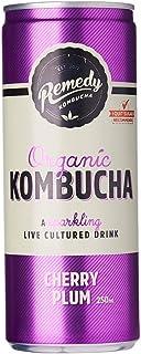 Remedy Organic Kombucha Cherry Plum, 250ml