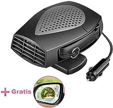 Calefacción para interior de coche, con protección contra sobrecalentamiento automática, 12 V, 150 W, incluye película antiempañamiento