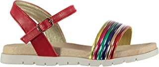 SoulCal Girls Stripe Sandals Summer Shoes Outdoors