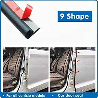 9 Type 1-8 meters Car Rubber Seal Sound Insulation Adhesive Car Door Sealing Strip Weatherstrip Edge For Car Insulation Seals
