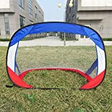 YINGJEE Pop Up Soccer Goal for Kids, Soccer Goals for Backyard, Portable Soccer