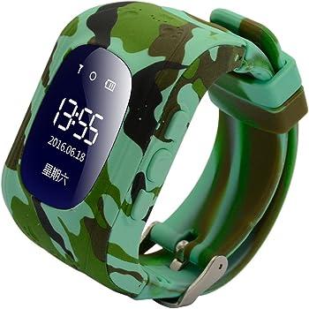 Reloj Inteligente para niños, 9Tong GPS Tracker Teléfono para niños con Anti-pérdida SOS Tarjeta SIM Ranura Pulsera Control de los Padres por iOS y Andriod Smartphone: Amazon.es: Electrónica
