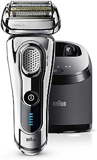 ブラウン メンズ電気シェーバー シリーズ9 9297cc 5カットシステム 洗浄機付 水洗い/お風呂剃り可 光沢仕上げモデル