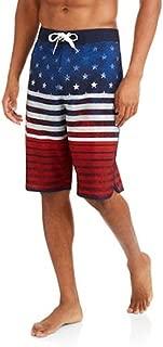 Mens OP American Flag Fixed Waistband Boardshorts