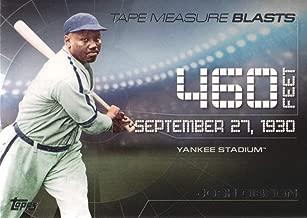 2015 Topps Update Baseball Tape Measure Blasts #TMB-15 Josh Gibson Homestead Grays