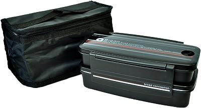 スケーター 食洗機対応 2段タイトランチボックス 保冷バッグ付 900ml 日本製 ブロードコンセプション KCXYW90