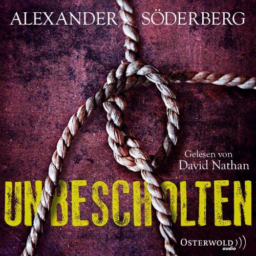 Unbescholten audiobook cover art