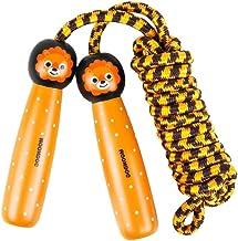 Abaodam Kinderen Sport Springtouw Springtouw met houten handvat Vroege Onderwijs Speelgoed Kid Fitness Apparatuur voor Tra...