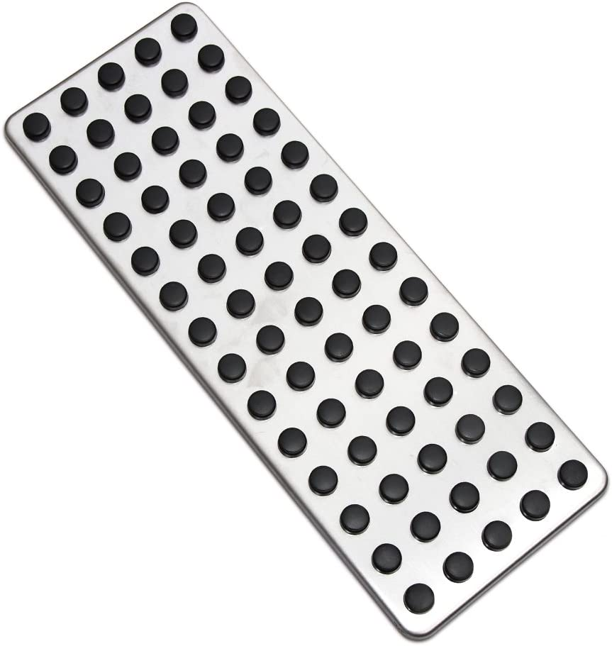9 MOONStainless Steel overseas Footrest Foot Rest Cover Fo Pedal Dead Pad Ranking TOP10