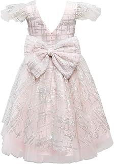 Miama 子供ドレス ロングドレス ピアノ発表会 パーディー 入園式 結婚式 ワンピース シャンペン色