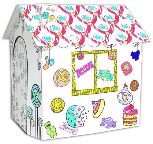 Pinta Tu Casita de Cartón Con Kit De Pintura Dentro - Smith&Dupont Fun! (Casa Gourmet)