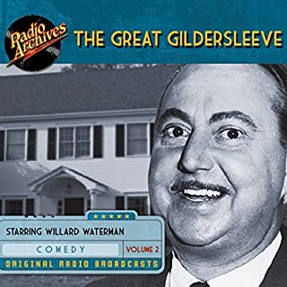 The Great Gildersleeve, Volume 2 audiobook cover art