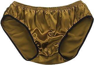 LSHARON Silk Men's Sexy 100% Mulberry Silk Briefs Lingerie Underwear