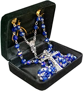 italian colored rosary beads