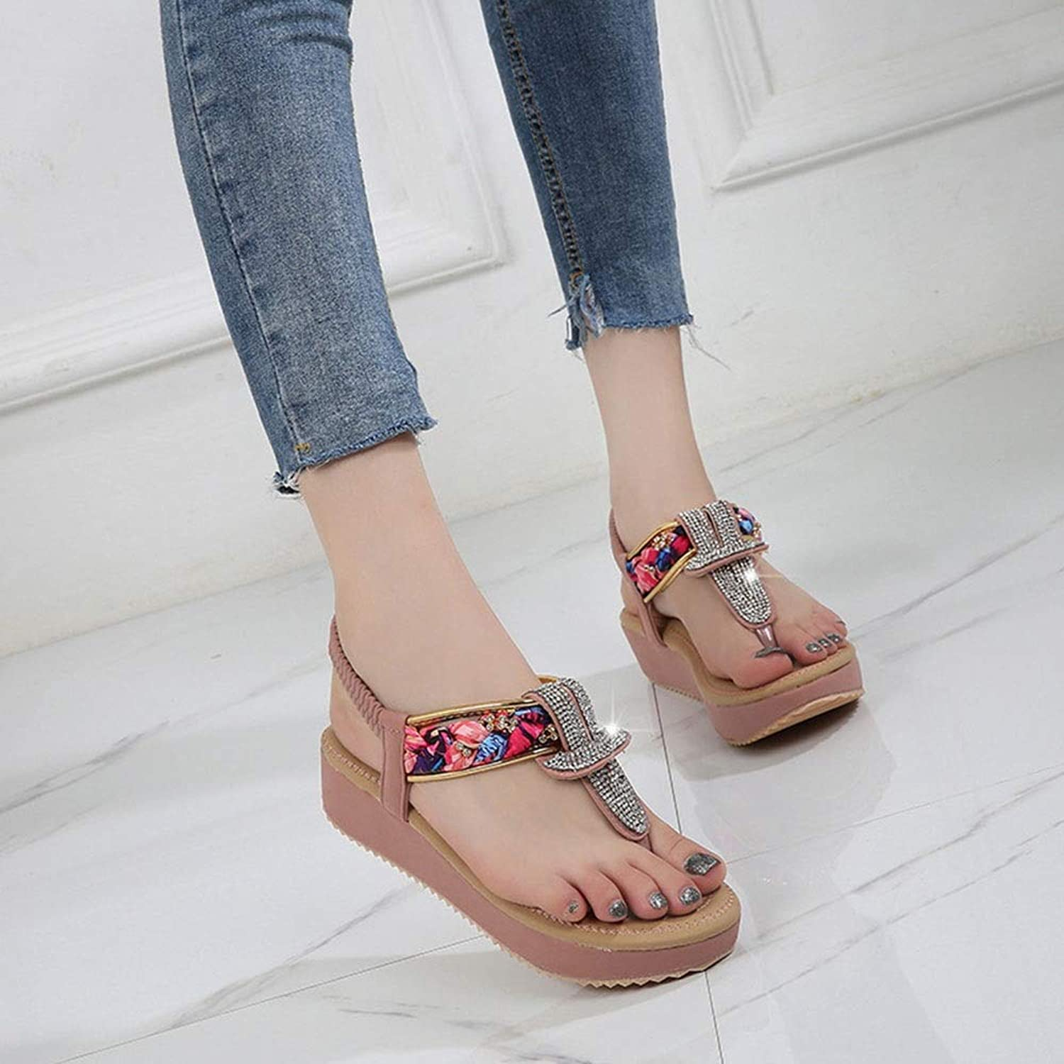 WENNEW Women's Fashion Sandals Bohemian Monotonous shoes