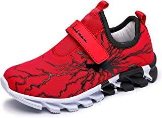 MEI NIAN GUAN Kids Sneakers Boys Girls Tennis Shoes Running Sports Mesh Shoes Spider Net Breathable Girls Athletic Shoes L...