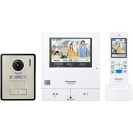 パナソニック テレビドアホン 電源コード式 ワイヤレスモニター付 VL-SWD505KF