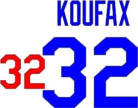 sandy koufax jersey number