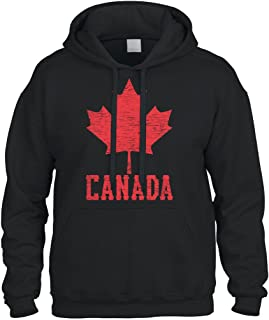 Cybertela Canadian Flag Canada Maple Leaf Sweatshirt Hoodie Hoody
