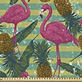 ABAKUHAUS Flamingo Stoff als Meterware,