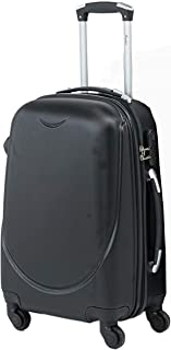 Senator Fashionable Lightweight Hard-shell Suitcase Spinner Luggage for Travel with Spinner Wheels 4 (28, Black)