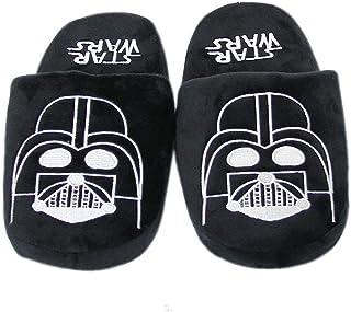 EASTVAPS Chaussures Darth Vader Black Slippers Anime Cartoon Chaussures en Coton Chaud