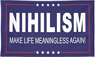 Toothsome Studios Nihilism Make Life Meaningless Again 3' x 5' Flag