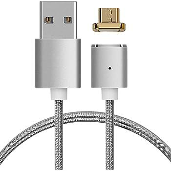 kwmobile Cable de Carga magnético microUSB: Amazon.es: Electrónica