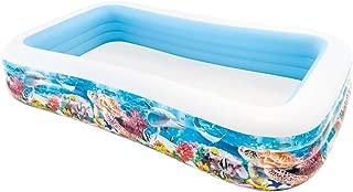 Intex Inflatable Pool, 305x 183x 56cm, 999L, Tropical design (58485np)