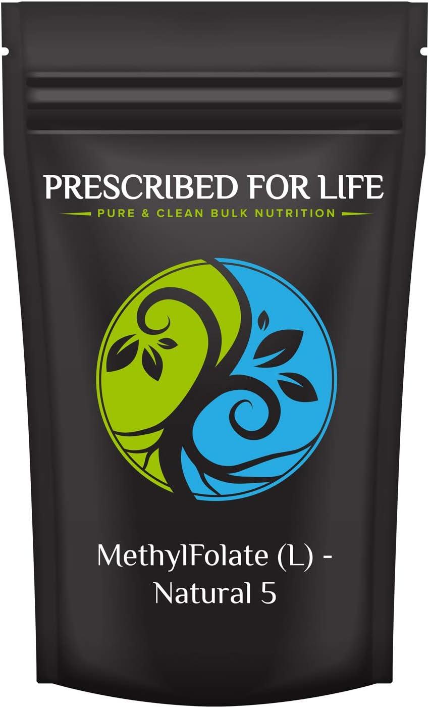 Award Prescribed for Life Methyl Folate Folic Powder Ac Bioavailable Long Beach Mall