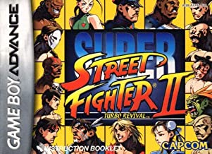 Super Street Fighter II Turbo Revival GBA Instruction Booklet (Game Boy Advance Manual only) (Nintendo Game Boy Advance Manual)