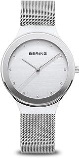 BERING Reloj Analógico Classic Collection para Mujer de Cuarzo con Correa en Acero Inoxidable y Cristal de Zafiro 12934-000