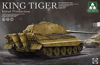 TAKom 1:35 King Tiger Sd.Kfz.182 Initial Production 4 in 1 - Plastic Kit #2096