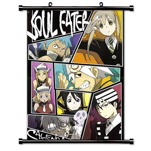 Soul Eater Anime Fabric Wall Scroll Poster (16' X 22') Inches