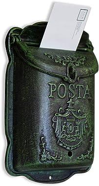NACH XP-M003G Wall-Mount Mailboxes (Antique Green)