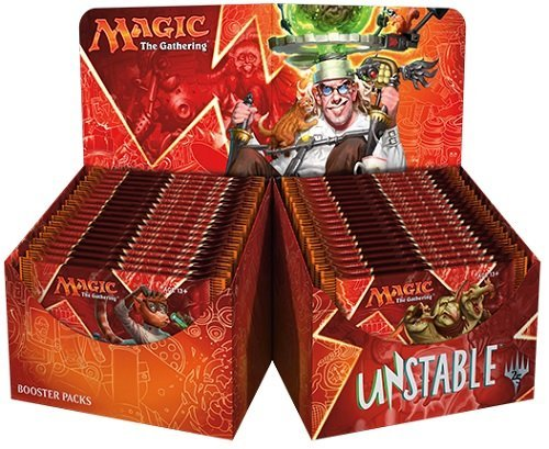 Magic The Gathering MTG-UST-BD-EN Unstable Trading Card Booster Display Box